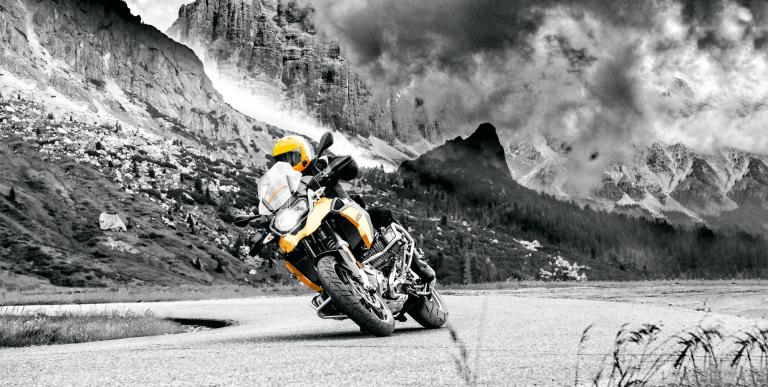Continental TrailAttack 3 wint Motorrad allroadbandentest