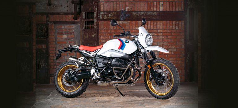 TKC 80 eerste montage op  BMW R nineT Urban G/S
